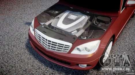 Mercedes-Benz C 280 T-Modell/Estate für GTA 4 Rückansicht