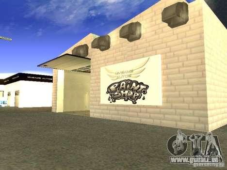 [HD] réseau de Garages MyGame Autos pour GTA San Andreas cinquième écran