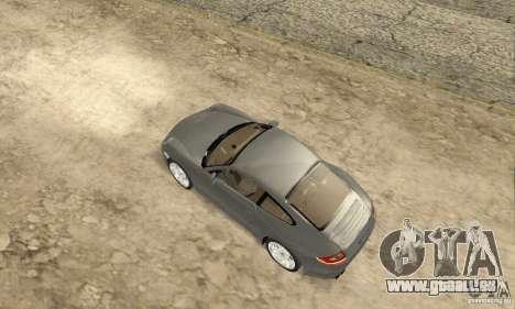 Porsche Carrera S 2009 pour GTA San Andreas sur la vue arrière gauche
