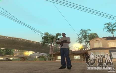 AKS-74U pour GTA San Andreas cinquième écran