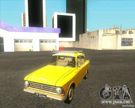 Moskvich 408 für GTA San Andreas linke Ansicht