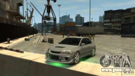 Mitsubishi Lancer EVOLUTION VIII pour GTA 4