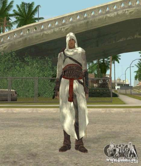 Assassins skins für GTA San Andreas fünften Screenshot