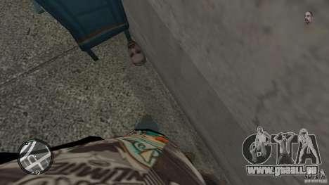 Granate teste mozzate für GTA 4 fünften Screenshot