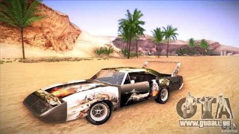 Plymouth Roadrunner Superbird Custom für GTA San Andreas rechten Ansicht