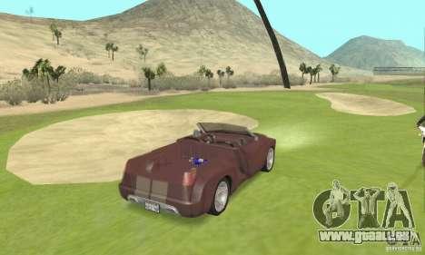 Dodge Sidewinder Concept 1997 pour GTA San Andreas laissé vue