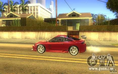 Mitsubishi Eclipse DriftStyle pour GTA San Andreas laissé vue