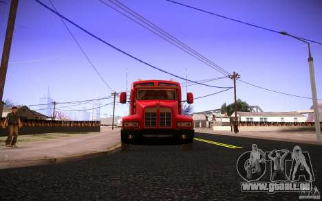 Kenworth T600 für GTA San Andreas obere Ansicht
