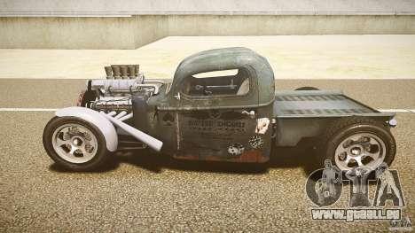 Ford Ratrod 1936 für GTA 4 Innenansicht