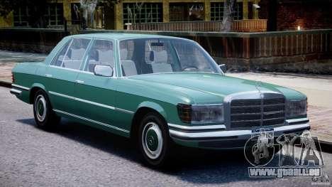 Mercedes-Benz 280SE W116 für GTA 4 linke Ansicht