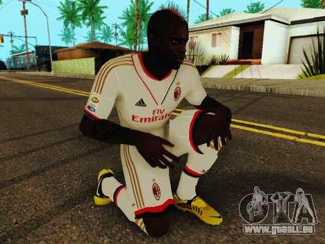 Mario Balotelli v2 für GTA San Andreas fünften Screenshot