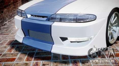 Nissan Silvia S14 [EPM] pour GTA 4 roues