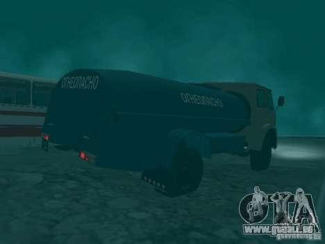 MAZ 503 pour GTA San Andreas vue arrière