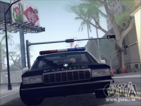 New Police LSPD pour GTA San Andreas laissé vue