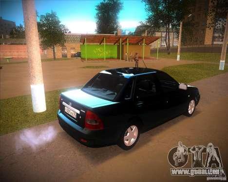 Lada Priora Suite pour GTA San Andreas vue arrière