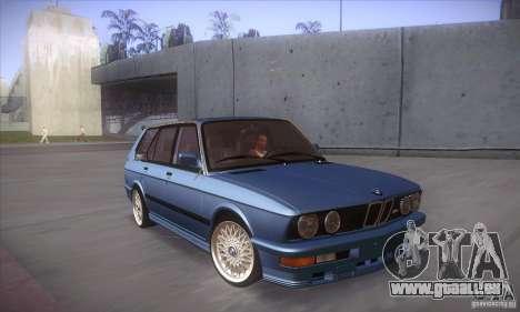 BMW E28 Touring für GTA San Andreas Innenansicht