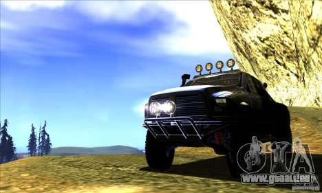 Dodge Ram All Terrain Carryer für GTA San Andreas