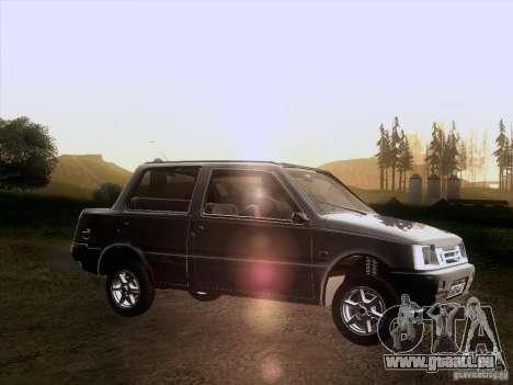 VAZ 1111 Oka Sedan pour GTA San Andreas laissé vue