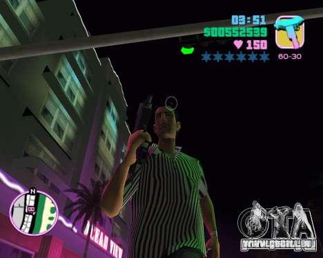 Tommy peau pour le quatrième écran GTA Vice City