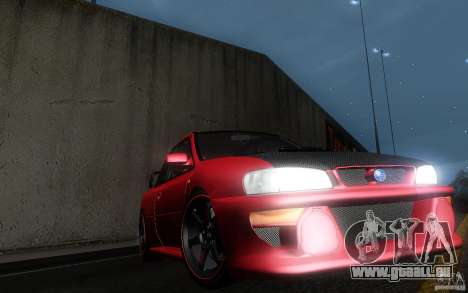 Subaru Impreza 22B für GTA San Andreas Seitenansicht