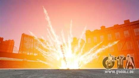 Grandes et réalistes des explosions pour GTA 4 secondes d'écran