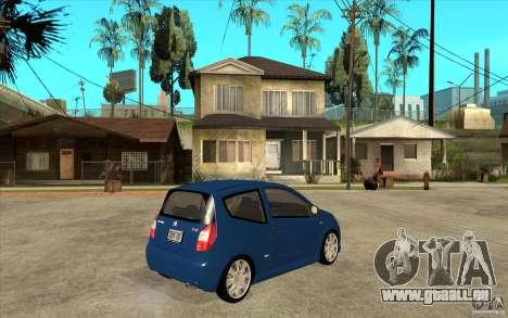 Citroen C2 - Stock pour GTA San Andreas vue de droite