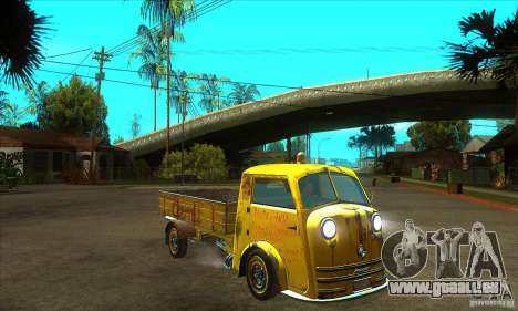 Tempo Matador 1952 Bus Barn version 1.1 für GTA San Andreas Rückansicht