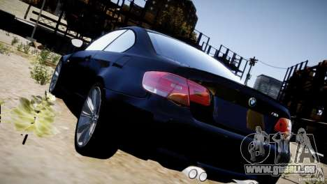 BMW M3 E92 für GTA 4 Unteransicht