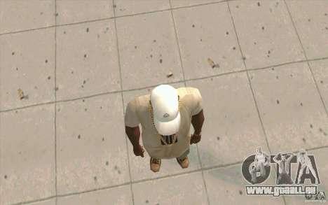 Casquette Kappa pour GTA San Andreas troisième écran