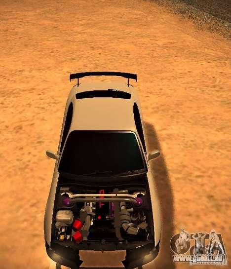 Nissan Silvia S15 pour GTA San Andreas laissé vue