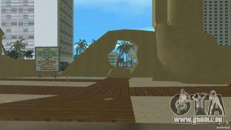 Vice City Beach-Park für GTA Vice City dritte Screenshot