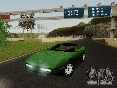 Chevrolet Corvette C4 1984 pour GTA San Andreas