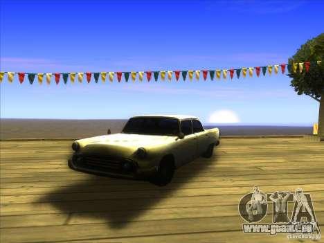 Glendale - Oceanic pour GTA San Andreas vue intérieure