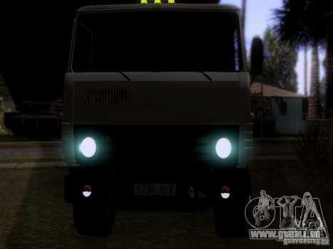 KAMAZ 53212 Milch tanker für GTA San Andreas Rückansicht