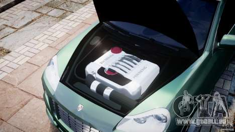 Porsche Cayenne Turbo S 2009 Tuning für GTA 4 Innenansicht