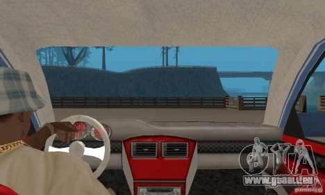 Toyota Carina 1996 pour GTA San Andreas vue arrière