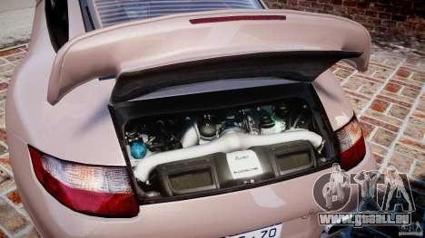 Porsche 911 (997) Turbo v1.0 pour GTA 4 Vue arrière