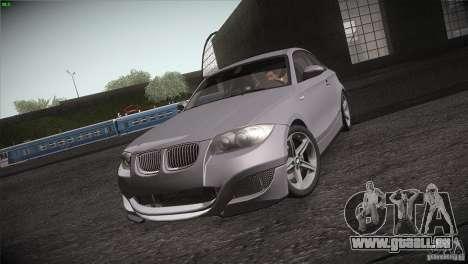 BMW 135i Coupe Road Edition pour GTA San Andreas vue intérieure