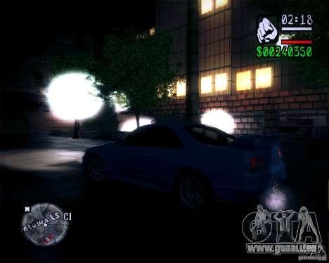 Neue Grafiken in dem Spiel 2011 für GTA San Andreas