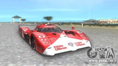 Toyota GT-One TS020 pour GTA Vice City