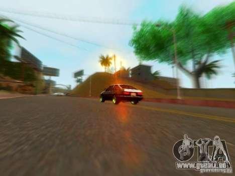 Toyota Corolla Carib AE86 pour GTA San Andreas vue de droite