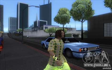 Rasta ped pour GTA San Andreas quatrième écran