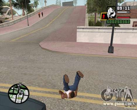 GTA 4 Anims for SAMP v2.0 pour GTA San Andreas huitième écran