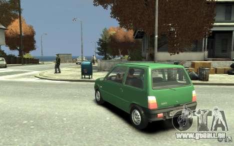 1111 OKA pour GTA 4 Vue arrière de la gauche