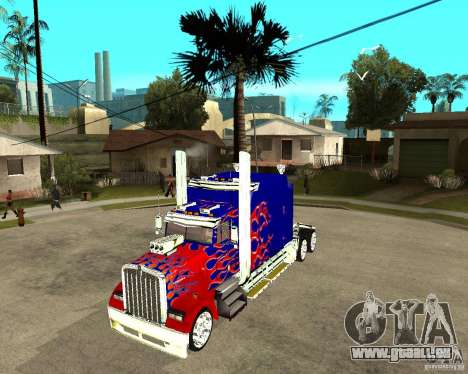 Truck Optimus Prime pour GTA San Andreas