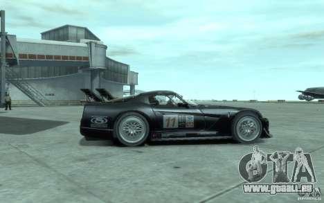 Dodge Viper Competition Coupe pour GTA 4 Vue arrière de la gauche