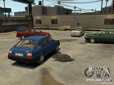 FSO Polonez Caro pour GTA 4 est une vue de dessous