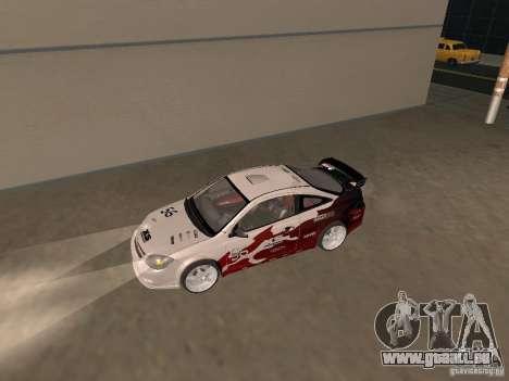 Chevrolet Cobalt Tuning pour GTA San Andreas sur la vue arrière gauche