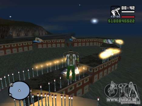 Night moto track V.2 für GTA San Andreas
