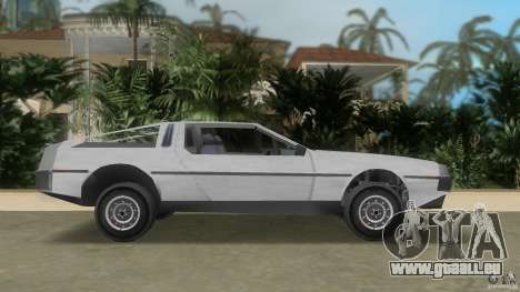 DeLorean für GTA Vice City linke Ansicht